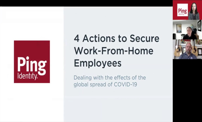 Webinar | 4 Actions to Secure Work from Home Employees