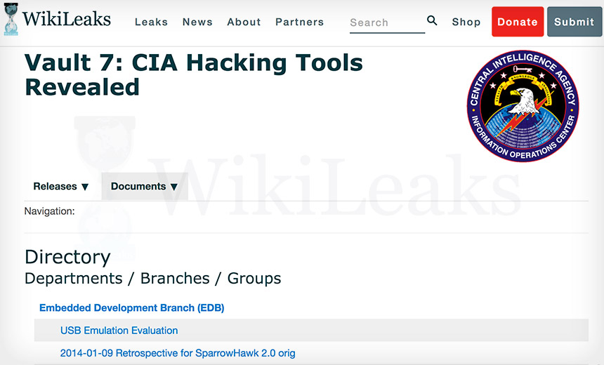 7 Facts Vault 7 CIA Hacking Tool Dump By WikiLeaks