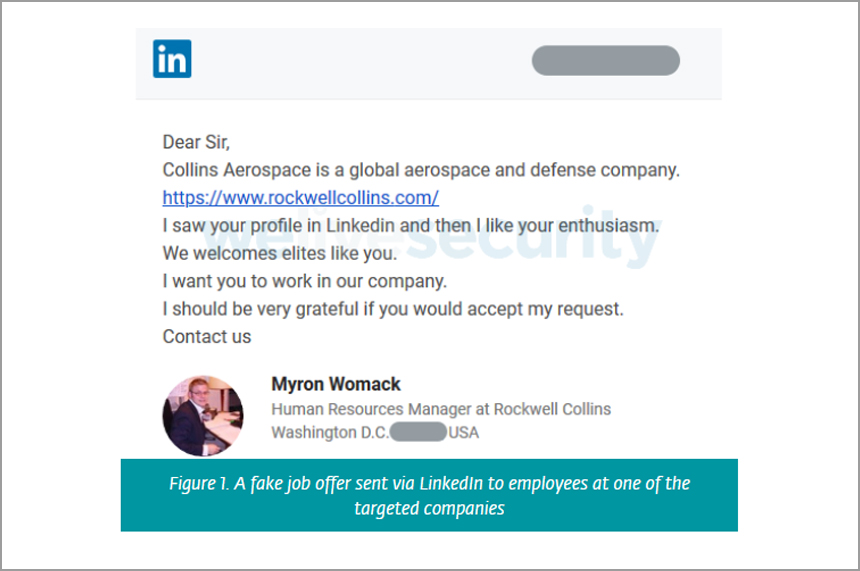 Aerospace, Defense Firms Targeted With Fake LinkedIn Profiles