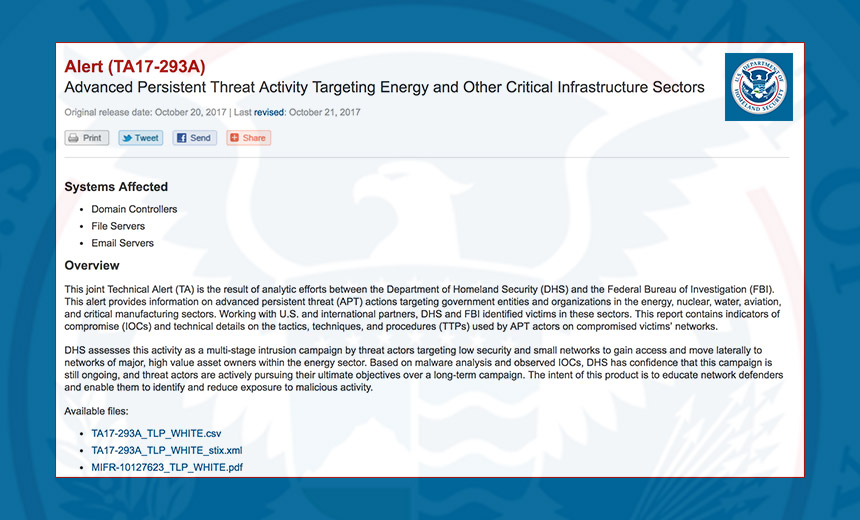 Alert: Energy Sector Hacking Campaign Continues