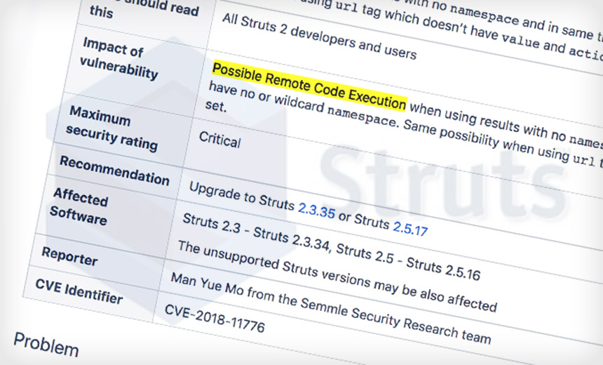 Apache Issues Emergency Struts Patch to Fix Critical Flaw