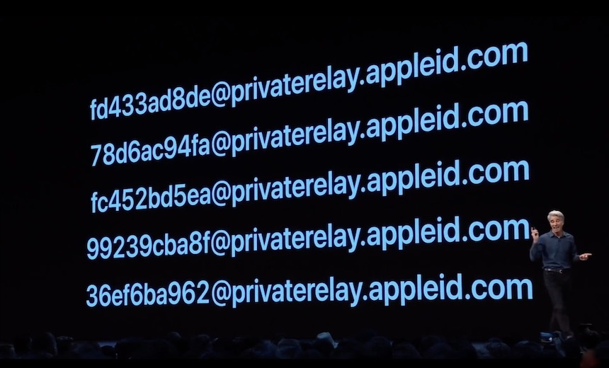 Apple Emphasizes Privacy With Single Sign-On Feature