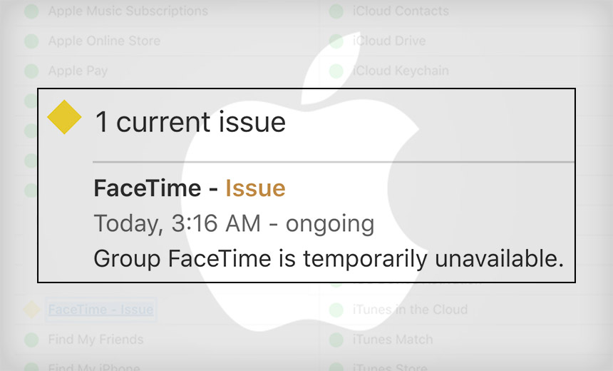 Apple Rushes to Fix Serious FaceTime Eavesdropping Flaw