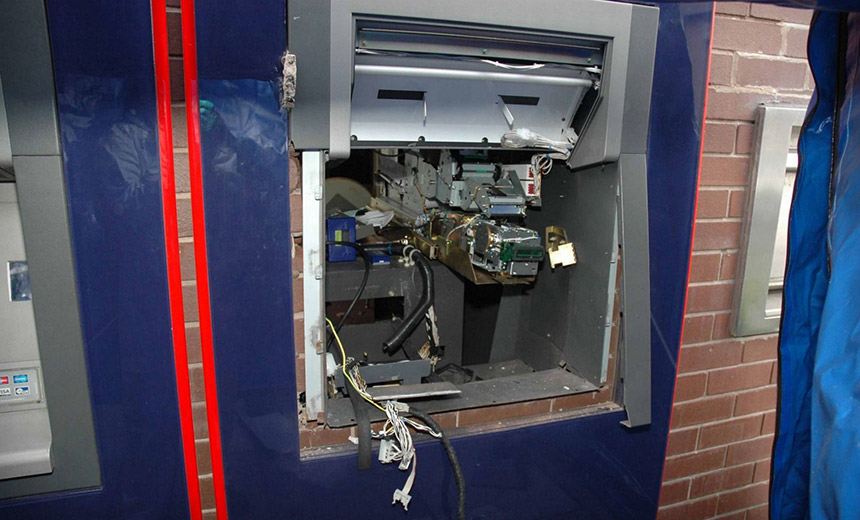 Attackers 'Hack' ATM Security with Explosives