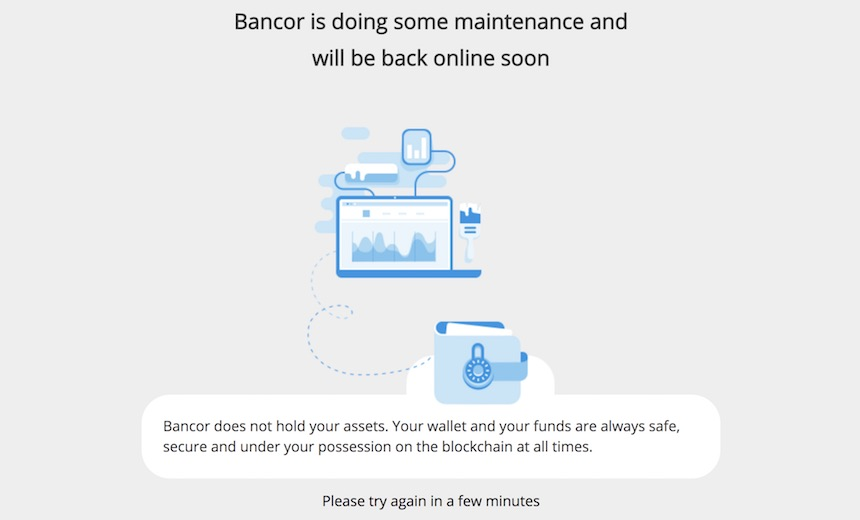 Cryptocurrency Exchange Developer Bancor Loses $23.5 Million