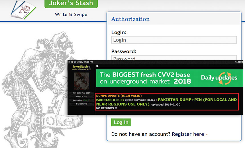 Big Dump of Pakistani Bank Card Data Appears on Carder Site
