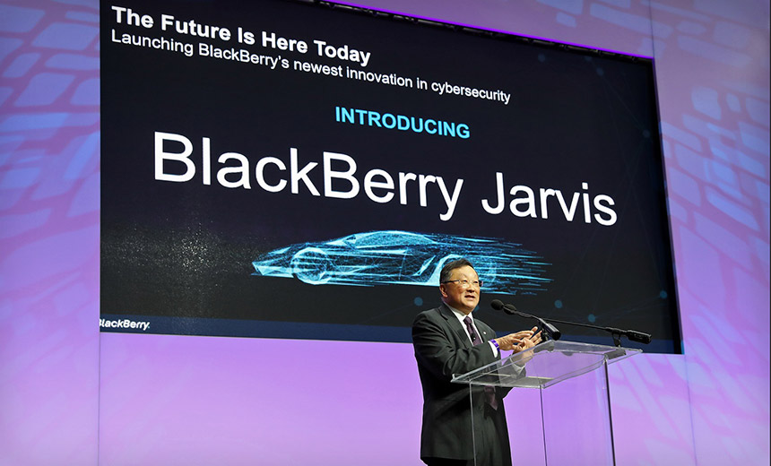 BlackBerry in Motion: Firm Aims to Secure Cars From Hackers