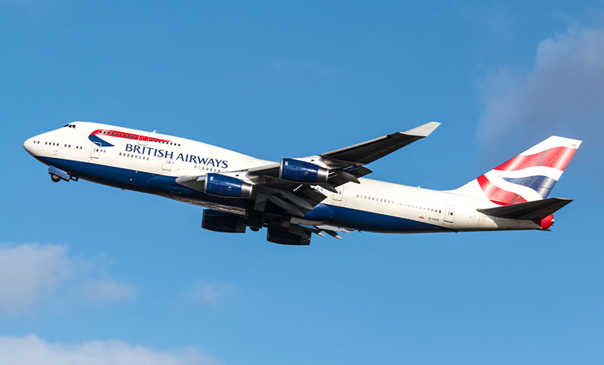 British Airways' GDPR Fine Dramatically Reduced