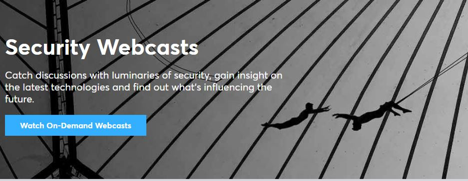 CA Security Digital Trust Webcasts
