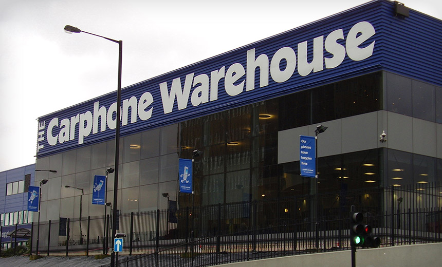 Carphone Warehouse Breach: 'Striking' Failures Trigger Fine
