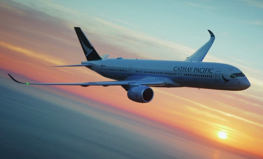 Cathay Pacific Airlines Fined Over Data Breach