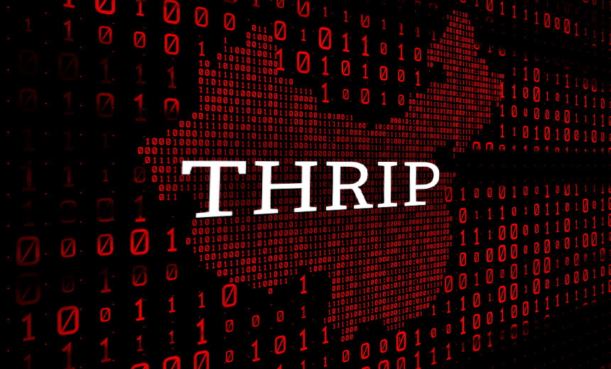 Chinese APT Group 'Thrip' Powers Ahead