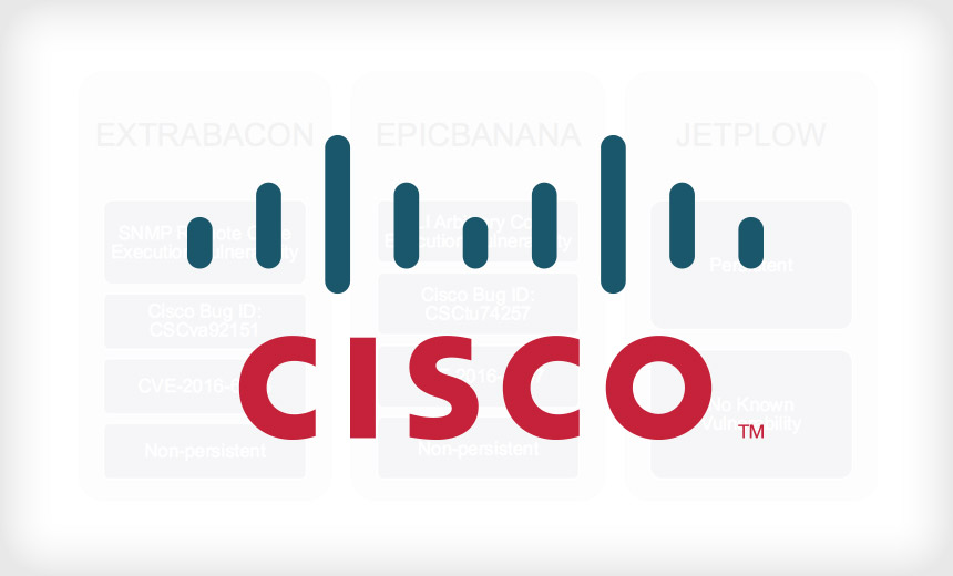 Cisco Patches ASA Devices Against EXTRABACON