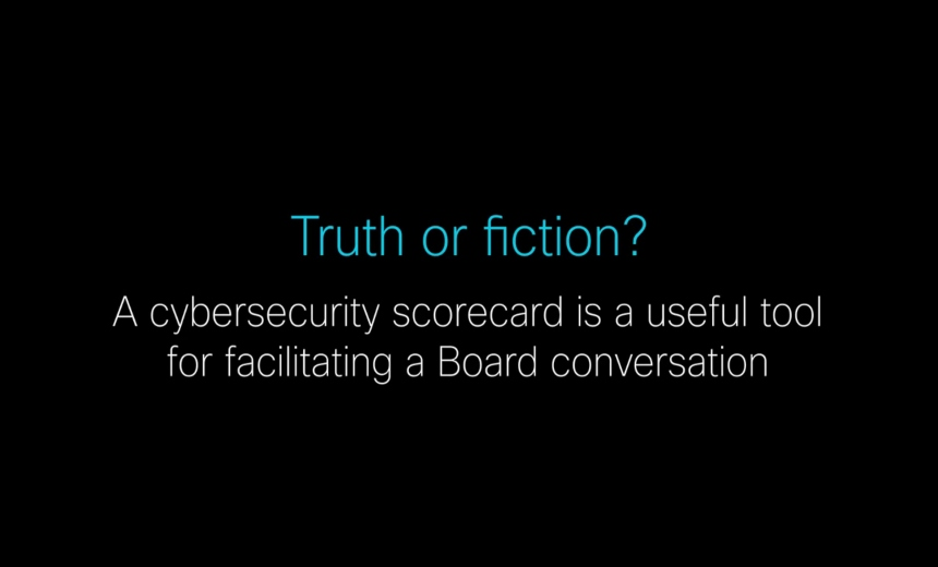 CISO Coffee Talks: Cybersecurity Scorecards