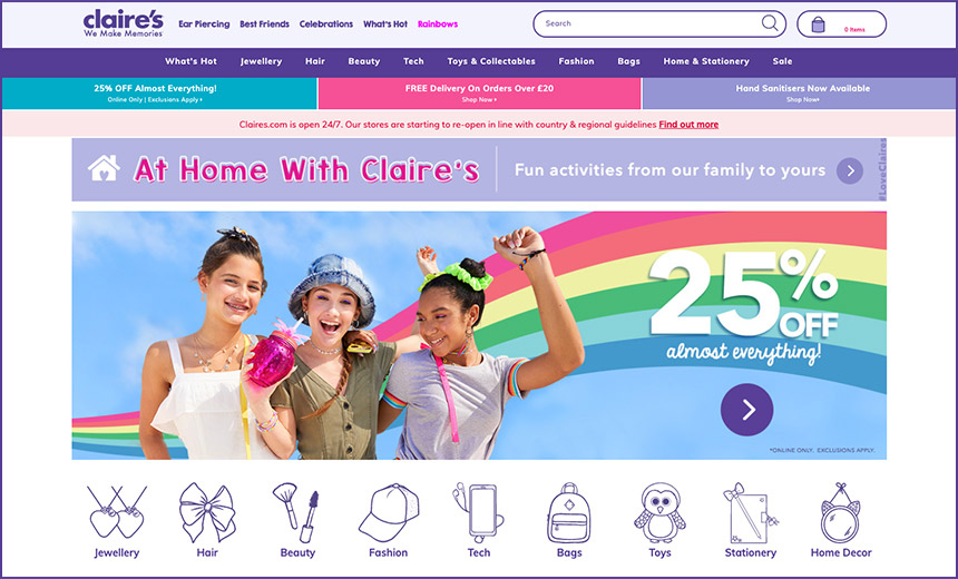 Claire's: Magecart E-Commerce Hackers Stole Card Data