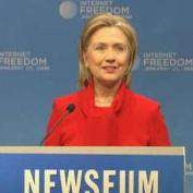 Clinton Warns Foes Against Cyber Attacks