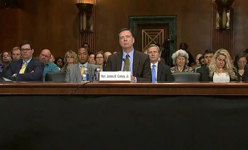 5 Cyber-Tied Takeaways from Comey's Senate Testimony