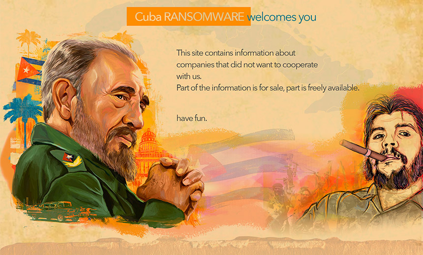 'Cuba' Ransomware Gang Hits Payment Processor, Steals Data