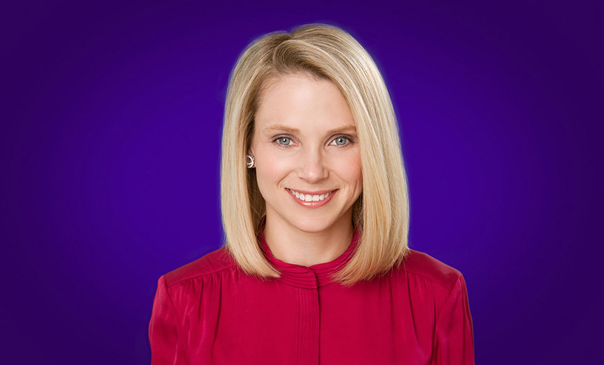 Despite Breaches, Yahoo CEO Gets Golden Parachute Yahoo CEO Marissa Mayer  ...