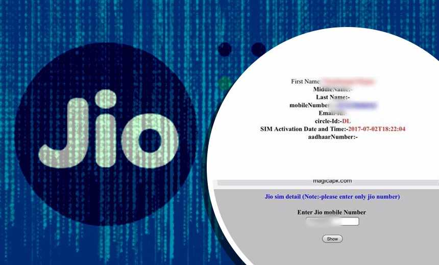 Details on Millions of Reliance Jio Customers Apparently Leaked