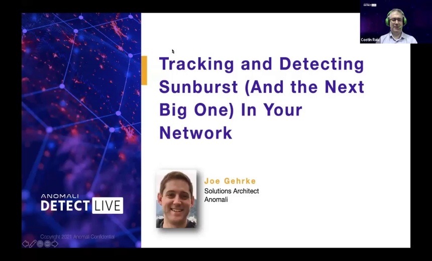 Detect and Track Sunburst (And the Next Big One) In Your Network