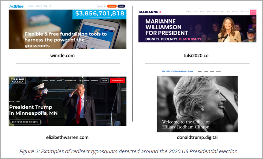 Domain 'Typosquatting' Hits 2020 US Elections
