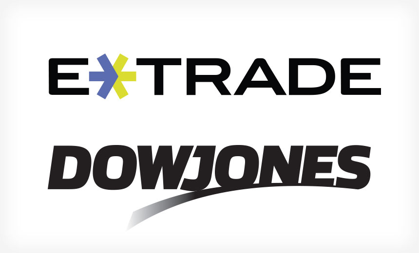 E*Trade, Dow Jones Issue Breach Alerts