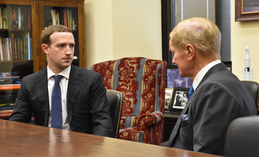 Facebook's Zuckerberg Takes First Drubbing in D.C.