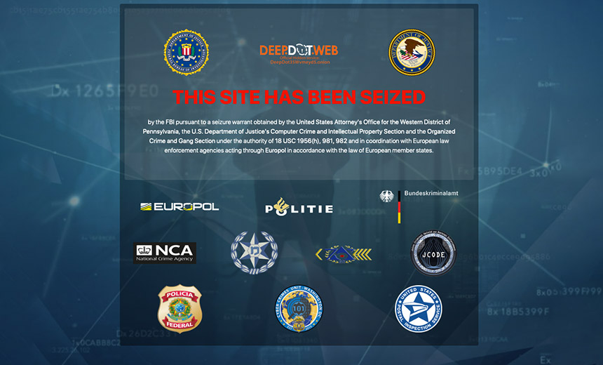 FBI Shutters DeepDotWeb Portal; Suspected Admins Arrested