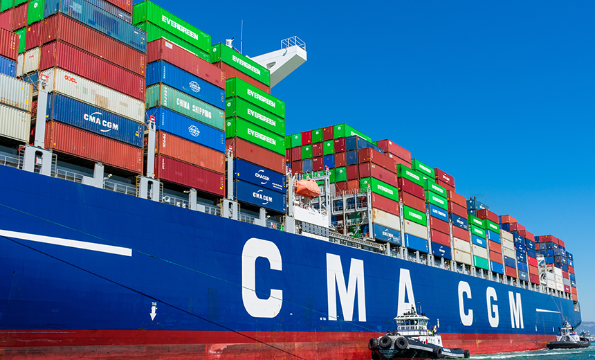 French Shipping Firm CMA CGM Investigates 'Malware' Attack