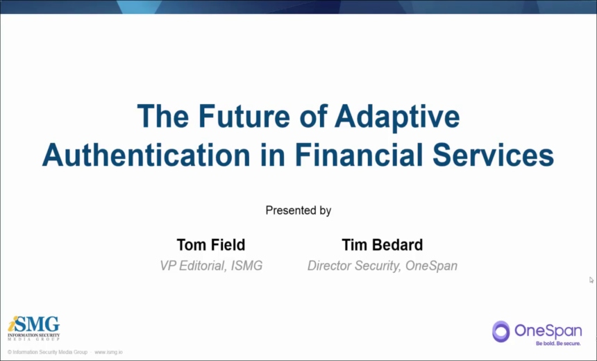 The Future of Adaptive Authentication in Financial Services