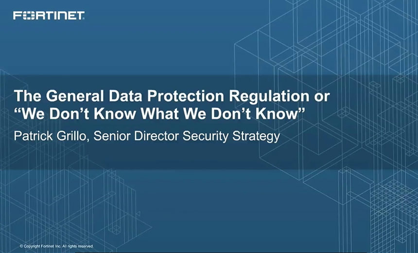 OnDemand Webinar: GDPR Compliance Efforts