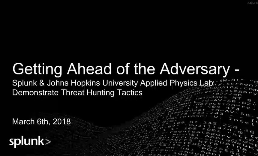 Getting Ahead of The Adversary: Government Threat Hunting Tactics
