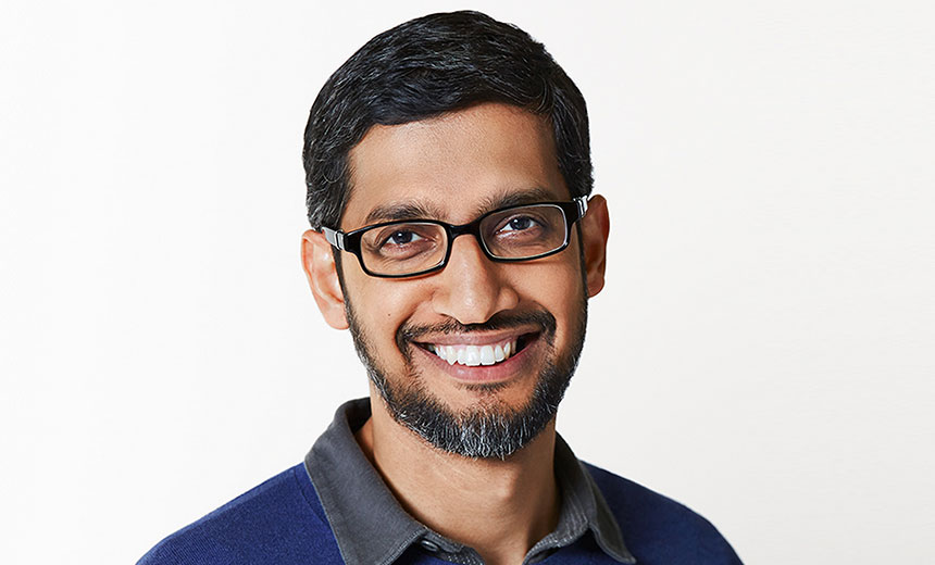 Google CEO Backs EU's Proposed Facial Recognition Ban
