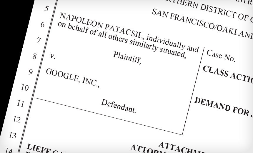 Google Hit With Lawsuit Over Location Tracking