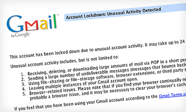Google Locks Down Stolen Credentials