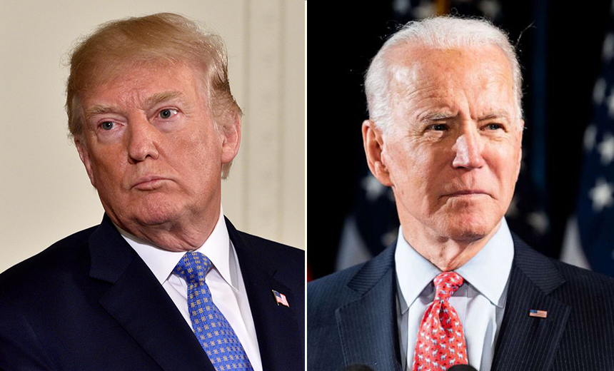 Google: Phishing Attacks Targeted Trump, Biden Campaigns