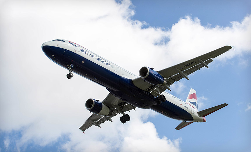 Hacker Flies Away With British Airways Customer Data