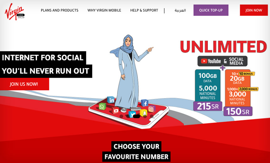 Exclusive: Hackers Hit Virgin Mobile in Saudi Arabia