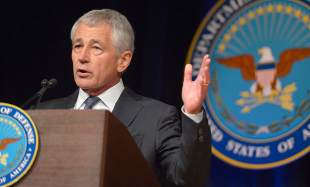 Hagel: Trilateral Security Effort Needed