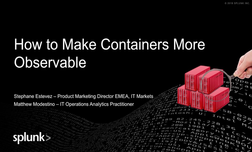 How to Make Your Containers More Observable