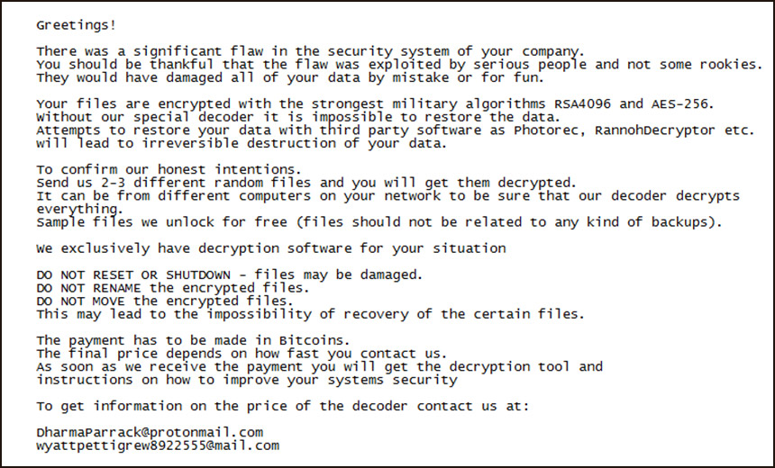 Hydro Hit by LockerGoga Ransomware via Active Directory
