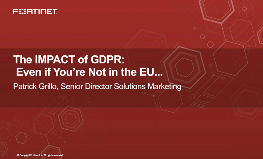 The Impact of GDPR Even If You Are Not In The EU