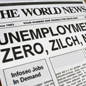 Information Security Analysts Jobless Rate: Zilch