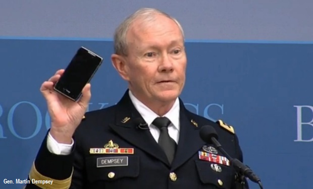 Joint Chiefs Chair: Fewer Admins Needed