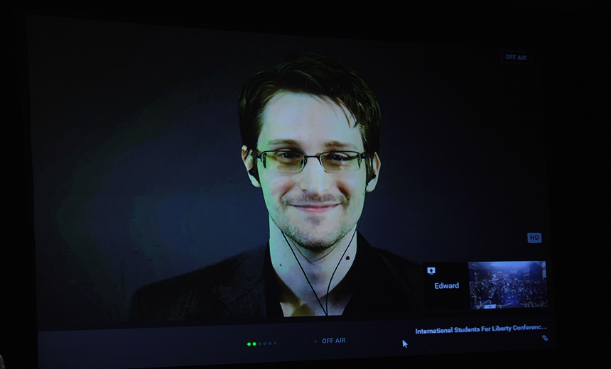 Justice Department Sues Snowden Over Memoir