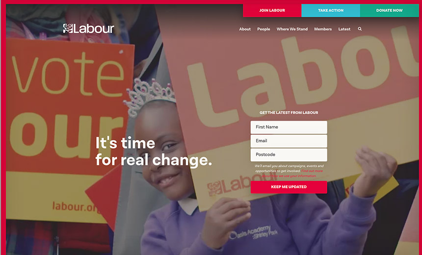 Labour Party Hit by Massive Online Attack Attempt