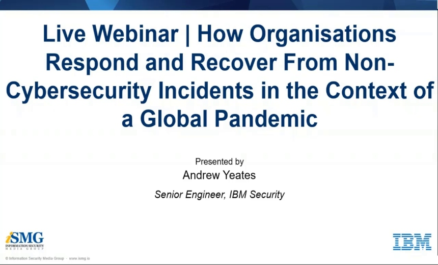 OnDemand Webinar | Respond and Recover From Non-Cybersecurity Incidents
