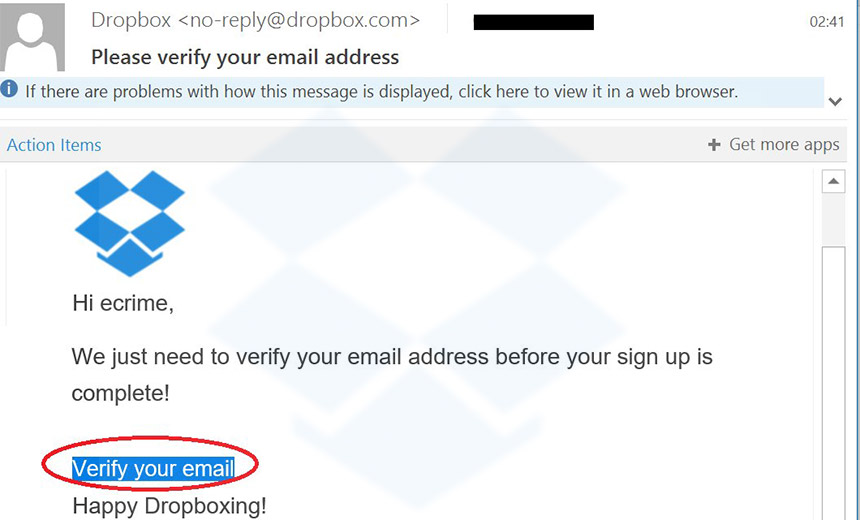 Locky Returns via Spam and Dropbox-Themed Phishing Attacks