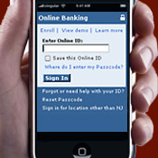 Mobile Banking Grows Slowly